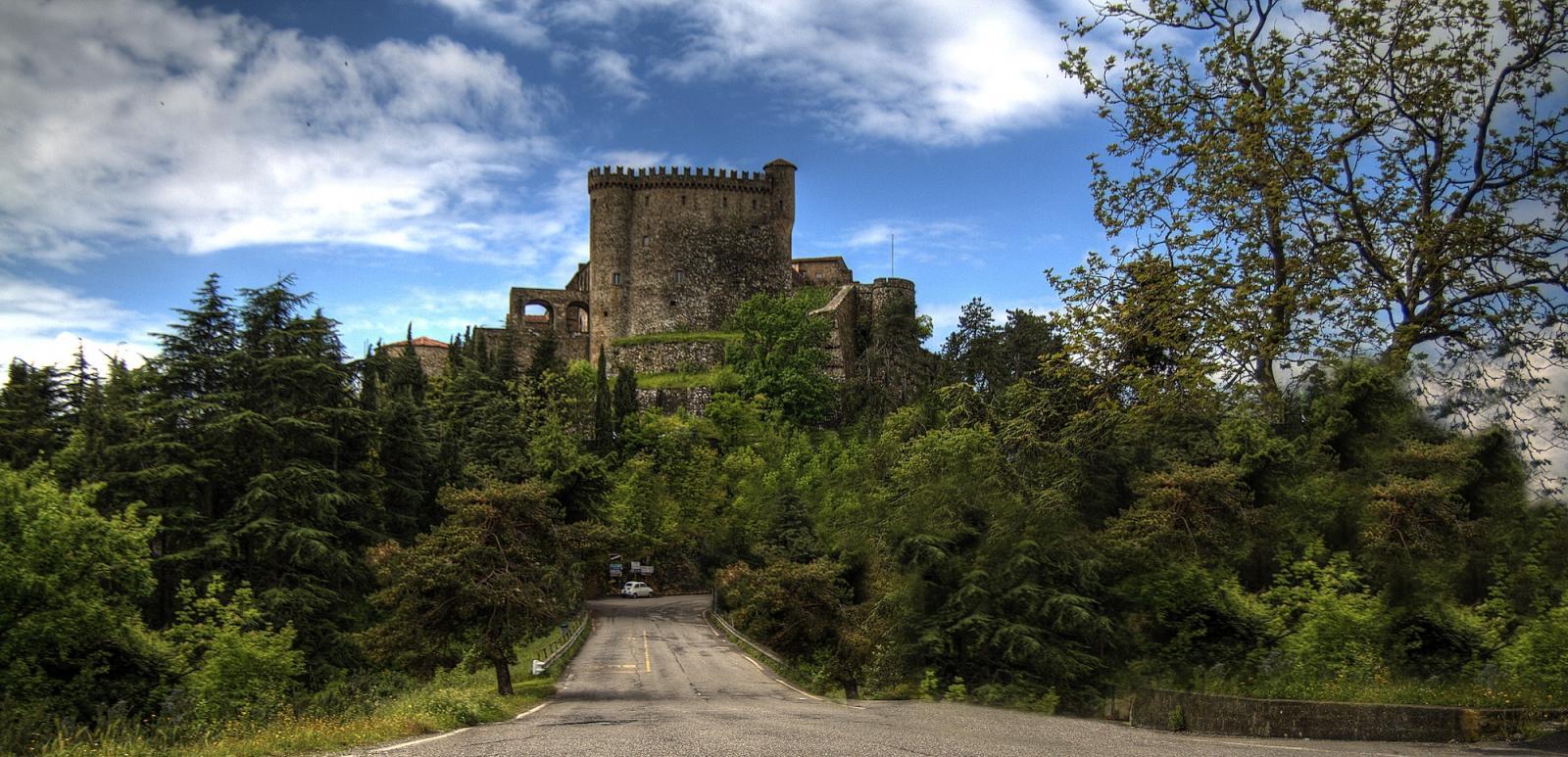 Malaspina Castle in Fosdinovo