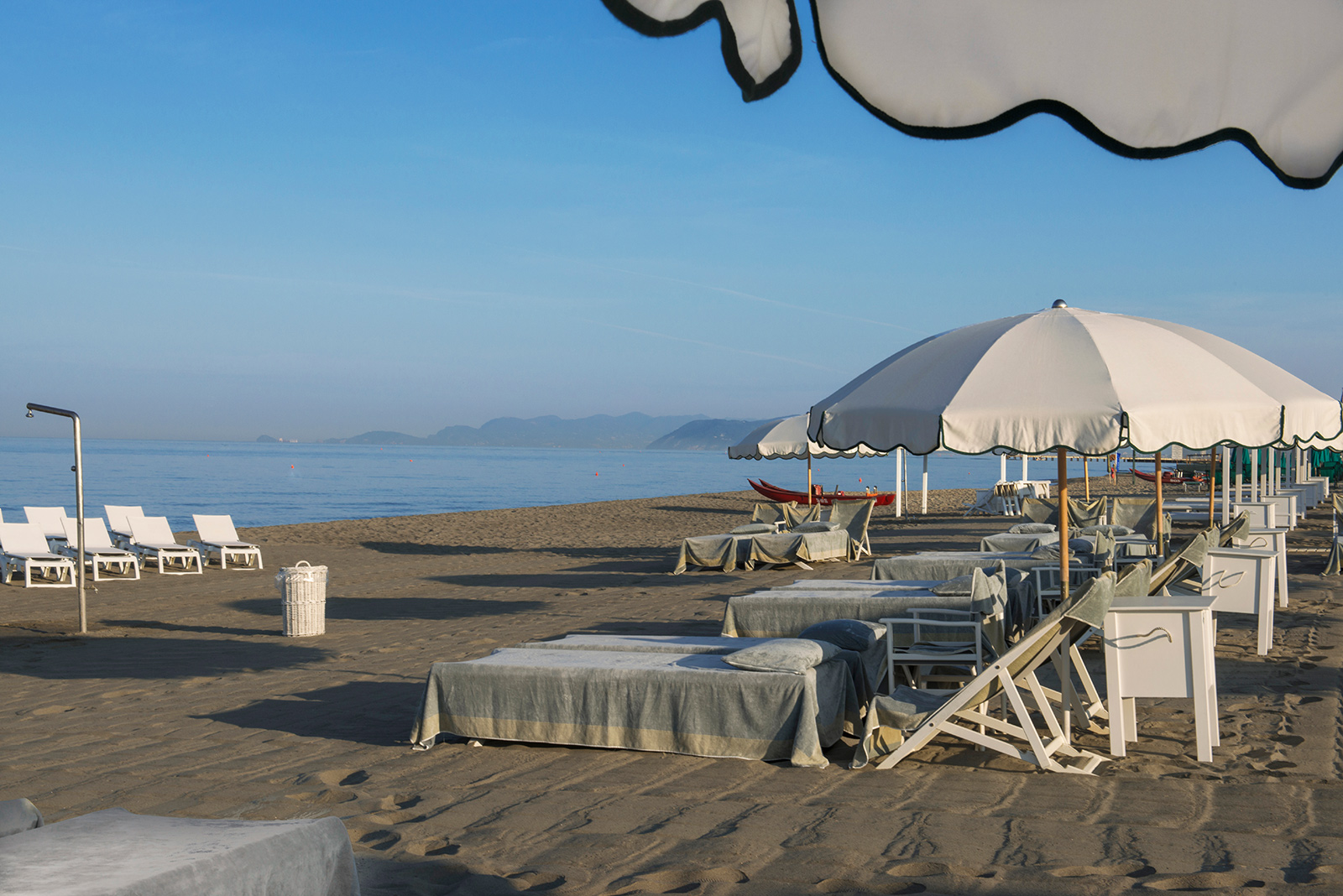 Is Beautifully Equipped With The Clic Wooden Cabins That You Can Admire Only In Forte Dei Marmi Gilda Beach Club Open From April To September