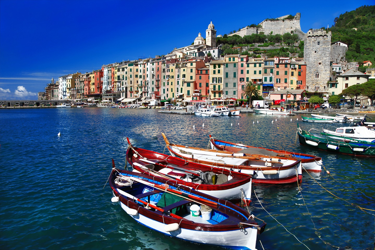 Portovenere from the sea